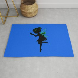 Fairy and Butterfly Rug