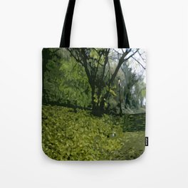 Budapest Green  Tote Bag