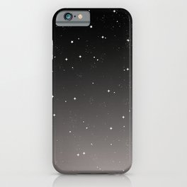 Keep On Shining - Starry Sky iPhone Case