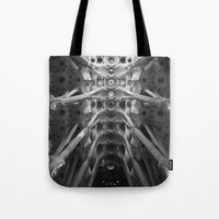 barcelona Tote Bags featuring Barcelona by zantelier