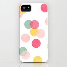 confetti iPhone (5, 5s) Slim Case