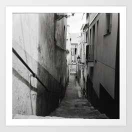 Carrer Bailon Art Print