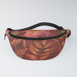My favorite color is october- Colorful autumnal leaves pattern Fanny Pack