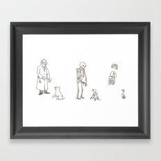 Inside Series Framed Art Print