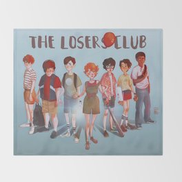 The Losers Club Throw Blanket