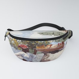 Woman at rest Fanny Pack