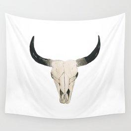 Desert Cow Skull Wall Tapestry