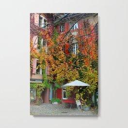 Basel: Courtyard Metal Print