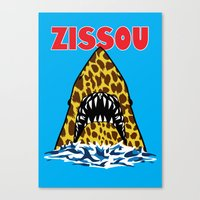 zissou Canvas Prints featuring Zissou by Buby87