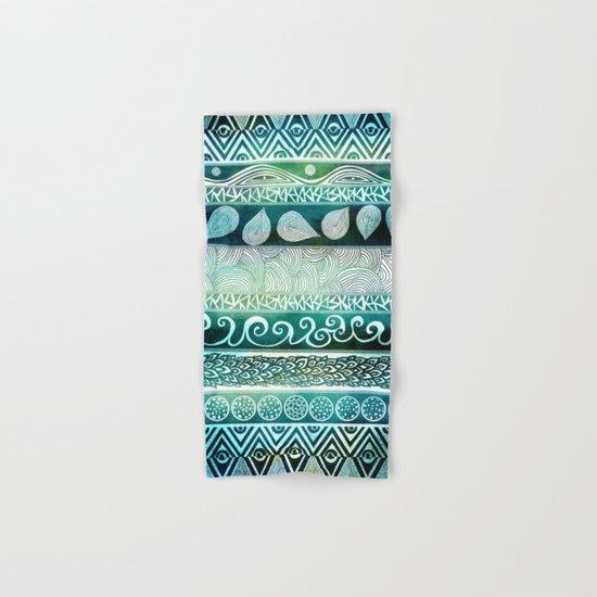 Dreamy Tribal Part VIII Hand & Bath Towel