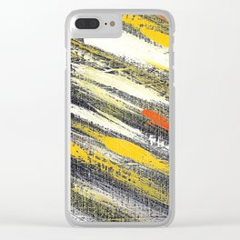 Cosmic yellow YG Clear iPhone Case