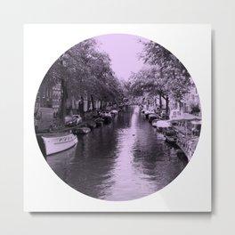 Amsterdam Canal #2 Metal Print