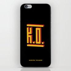 PAUSE – K.O. iPhone & iPod Skin