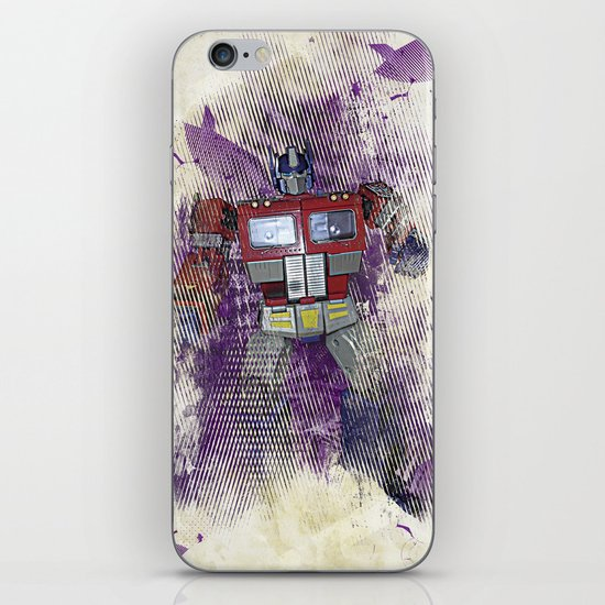 G1 - Optimus Prime iPhone & iPod Skin