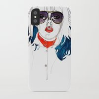 kate bishop iPhone & iPod Cases featuring Kate  by Jessica Tobin