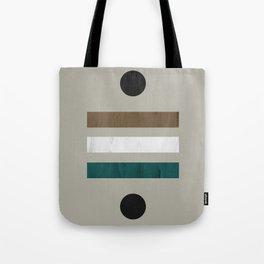 Minimalist Mid Century Natural  Tote Bag
