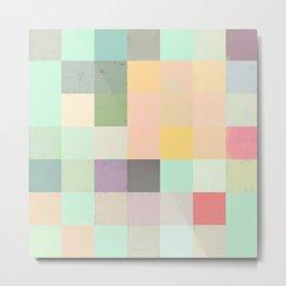 Abstract Geometry No. 16 Metal Print