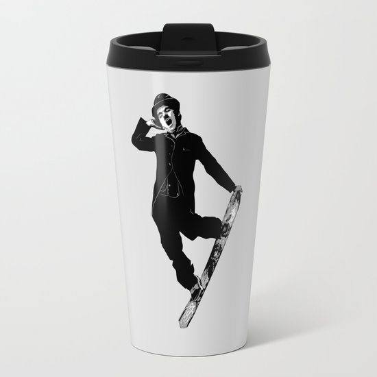 Gnarly Chaplin Travel Mug