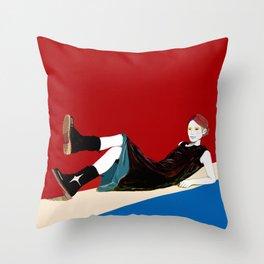 sae-red Throw Pillow
