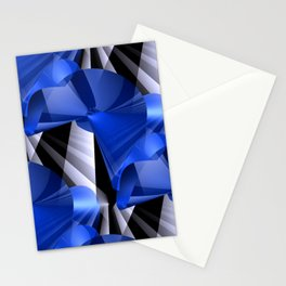 3D abstraction -03a- Stationery Cards