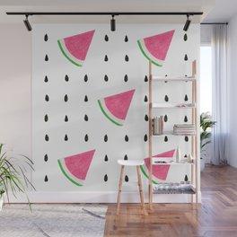 pattern watermelon Wall Mural