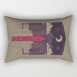 The Lost Obelisk Rectangular Pillow