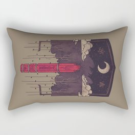 The Lost Obelisk Rectangular Pillow