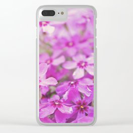 Floral 7 Clear iPhone Case