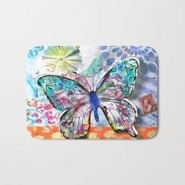 Fantasía con Mariposas Bath Mat