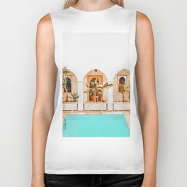 Turkish Holiday #painting #travel Biker Tank