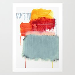 layered color 2 Art Print