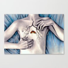 Between Two Lungs Canvas Print
