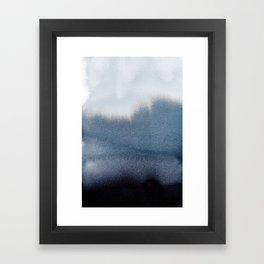 In Blue Framed Art Print