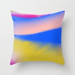 Aurora lights Throw Pillow