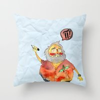 pi Throw Pillows featuring Pi Power! by Jo-L Hate