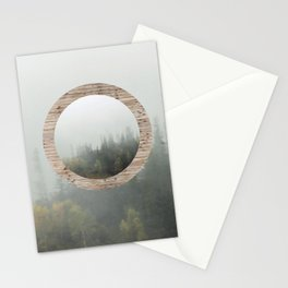 At the still point of the turning world. Stationery Cards