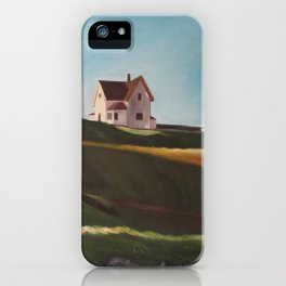 Edward Hopper homage iPhone Case