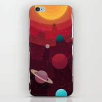 solar system iPhone & iPod Skins featuring Solar System by badOdds