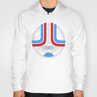 league Hoodies featuring Star League by AS Studio