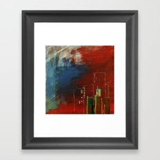 Death of Detriot - Skyline  Framed Art Print