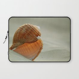 Shell in the Sand Laptop Sleeve