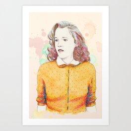 Lorraine Baines - Secondary character? Never! Art Print
