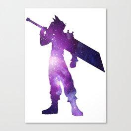 Purple Space Cloud Strife Canvas Print