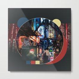 COLLAGE: Tokyo I Metal Print