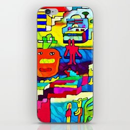 Unstable relationships iPhone Skin