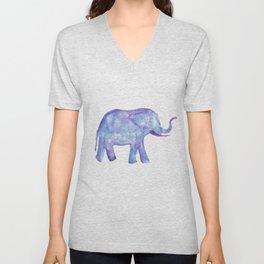 Watercolor Elephant Unisex V-Neck