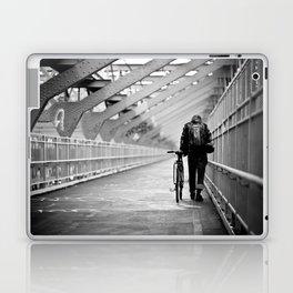 One Way Life , Traveler , Biker , NYC , Williamsburg Bridge  Laptop & iPad Skin