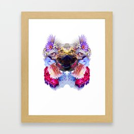 Condescending Bearded Dragon Escapes Masterful Punks in Need of Therapy Framed Art Print