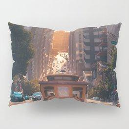 San Francisco Trolley (Color) Pillow Sham