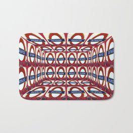 Can you show me the way to waterloo? Bath Mat